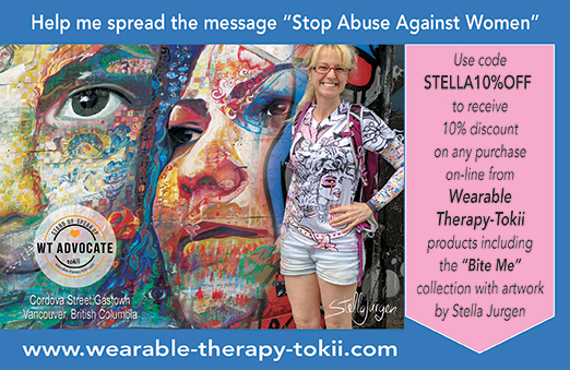 Stella-Jurgen-Bite-Me-Wearable-Therapy-Tokii-Active-T-Gastown-Vancouver.-webjpg
