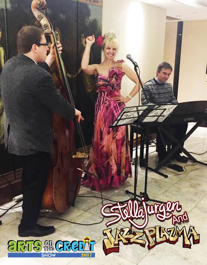 Stella Jurgen-Jazz Plazma-Arts on the Credit-VIP-Apr 7 2017