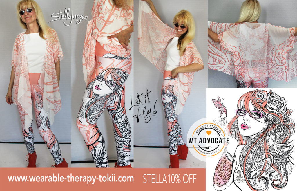 Stella Jurgen-Let it Fly-Wearable Therapy-Tokii-Anti-Bullying