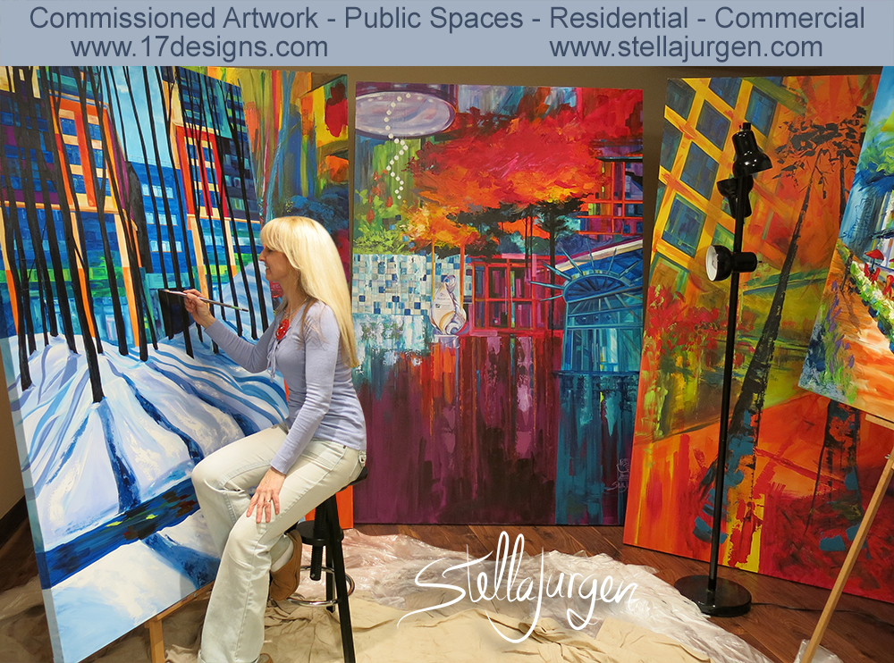 Stella-Jurgen-Painting-Natural Perspective-Snow-Perspective Condos-4-web