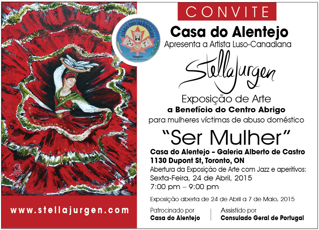 Stella-Jurgen-Ser Mulher-Convite-Exposicao-24 de Abril-Casa do Alentejo