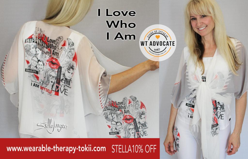 Stella Jurgen-Who I Am-Wearable Therapy-Tokii-LGBTQ