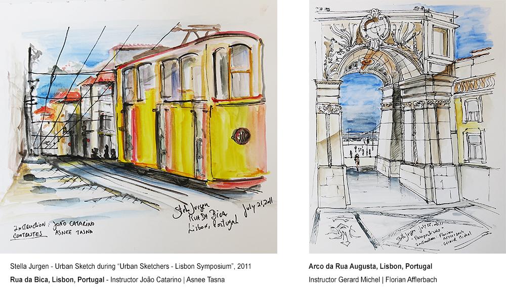 StellaJurgen-Lisbon-Sketches