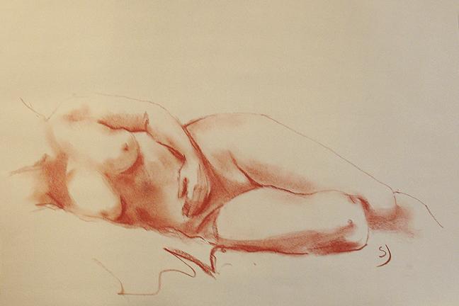 Illustration female figure