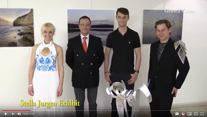 Stella Jurgen art, Kurt Jurgen photography, Chris Banfalvi metal sculptures