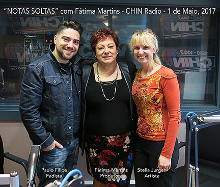 Stella Jurgen radio appearance, CHIN Radio