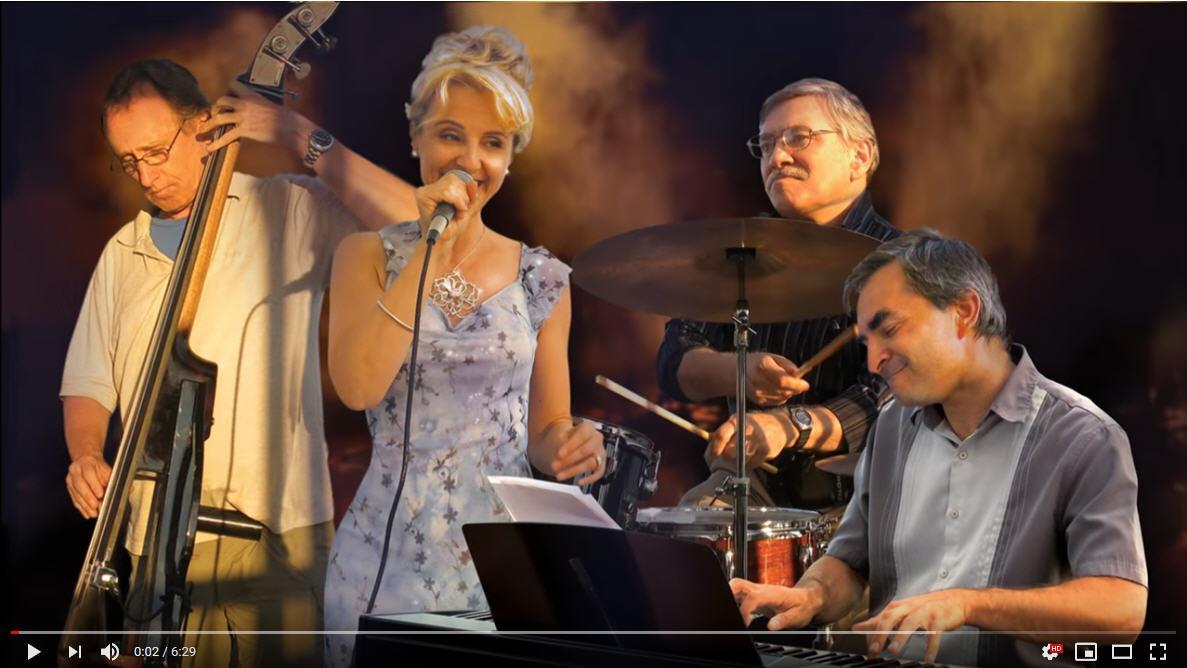 Jazz Plazma, Stella Jurgen, jazz quartet, Georgia On My Mind