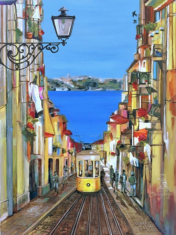 Lisboa Encantada - Painting