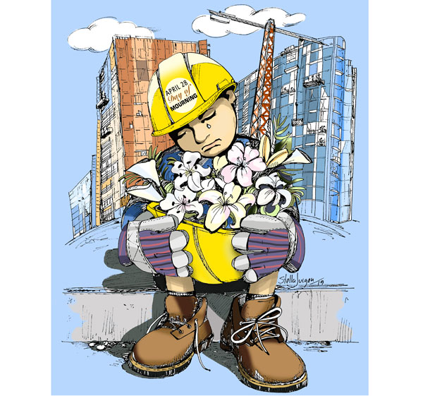 Mourning Day in the Construction Industry, April 28