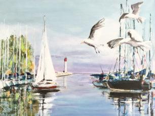 sailing in Oakville, sailing boats, Oakvillle Marina, Oakville, Ontario