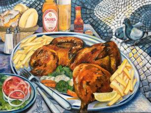 Piripiri Chicken, Portuguese traditional gastronomy
