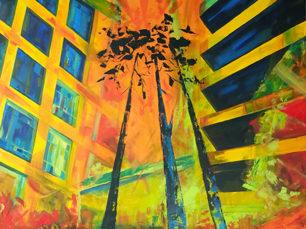 Pianosi Development Corporation, Perspective Condo, commissioned artwork