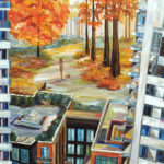 Pianosi Development Corporation, Perspective condos, urban painting, commissioned collection