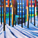 Pianosi Development Corporation, Perspective Condos, commissioned art, urban abstract