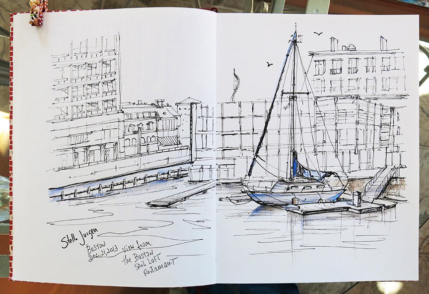 sketch Boston Sail Loft Restaurant